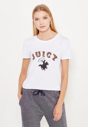 Футболка Juicy by Couture. Цвет: белый