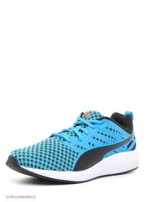 Кроссовки Flare Puma. Цвет: голубой