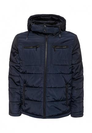 Куртка утепленная Top Secret. Цвет: синий