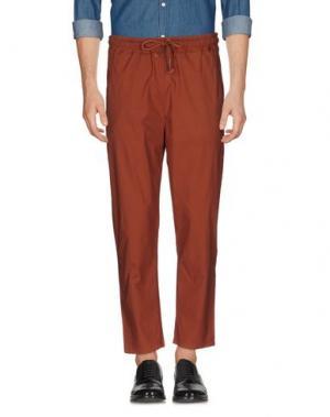 Повседневные брюки C.Y.H. CLAP YOUR HAND. Цвет: ржаво-коричневый