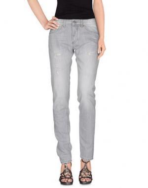 Джинсовые брюки MICHAEL COAL. Цвет: светло-серый