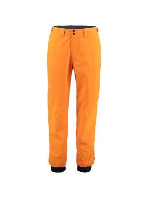 Брюки сноубордические O'Neill. Цвет: оранжевый