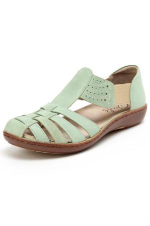 Туфли Dali. Цвет: зеленый