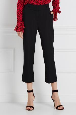 Однотонные брюки Wunderkind. Цвет: черный