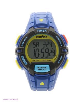 Часы TIMEX. Цвет: индиго