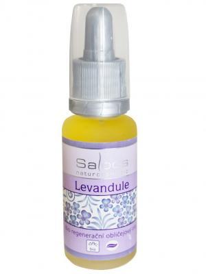 Регенерирующее масло для лица Лаванда 20 мл Saloos. Цвет: белый