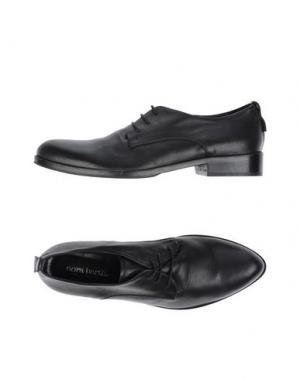 Обувь на шнурках NORA BARTH. Цвет: черный