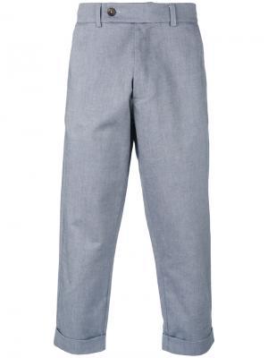 Cropped 60 trousers Société Anonyme. Цвет: серый
