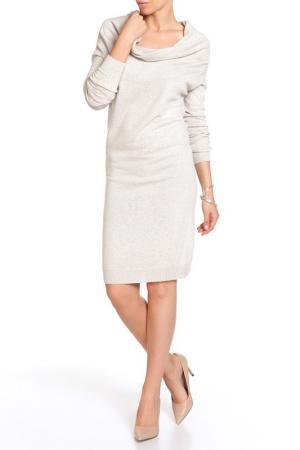 Платье LEIDIRO. Цвет: бежевый