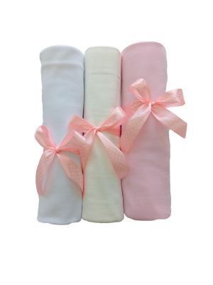 Комплект пеленок Дашенька. Цвет: розовый