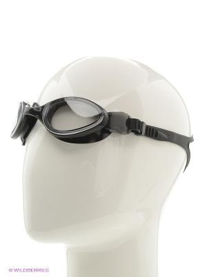 Очки плавательные S1201 Larsen. Цвет: черный