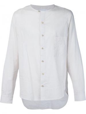 Рубашка с круглым вырезом By Walid. Цвет: белый