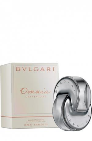 Туалетная вода Bvlgari Omnia Crystalline. Цвет: бесцветный