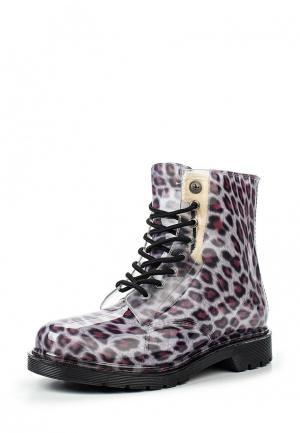 Резиновые ботинки Mon Ami. Цвет: фиолетовый