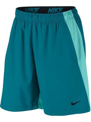 Шорты M NK FLX SHORT WOVEN Nike. Цвет: синий, голубой