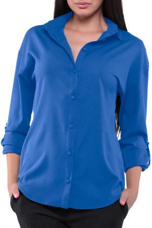 Блуза MAURINI. Цвет: электрик