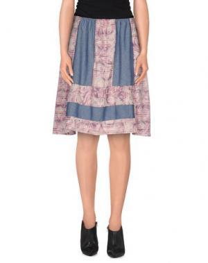 Мини-юбка ROSAMUNDA. Цвет: синий