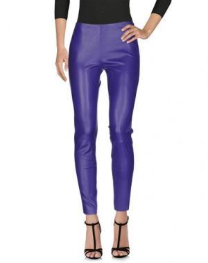 Легинсы JITROIS. Цвет: фиолетовый
