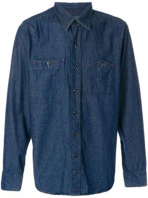 Джинсовая рубашка Engineered Garments. Цвет: синий