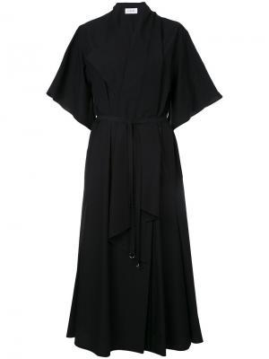 Foulard dress Lemaire. Цвет: чёрный