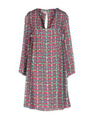 Короткое платье 100X200 CENTOXDUECENTO. Цвет: пурпурный