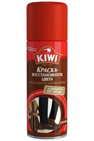 Краска для замши, нубука KIWI. Цвет: коричневый