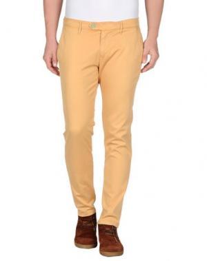 Повседневные брюки OAKS. Цвет: охра