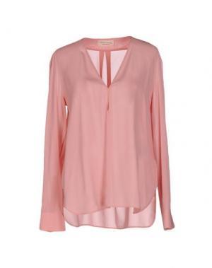Блузка CARLO CONTRADA. Цвет: розовый