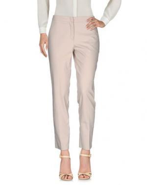 Повседневные брюки KAOS. Цвет: бежевый