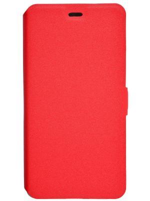 Чехол-книжка для Xiaomi RedMi 4 PRIME book. Цвет: красный
