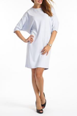 Платье TOK. Цвет: синий