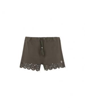 Пляжные брюки и шорты BANANA MOON. Цвет: зеленый-милитари