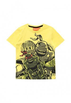 Футболка Blukids. Цвет: желтый