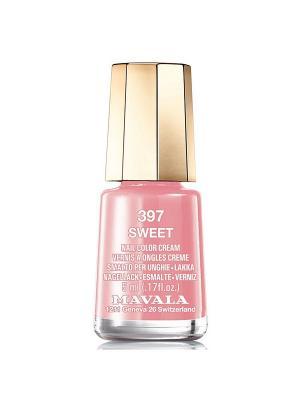 Лак для ногтей тон 397 Sweet Mavala. Цвет: светло-коричневый