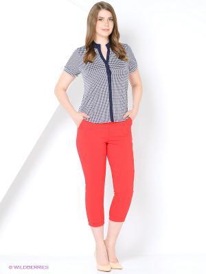 Капри Milana Style. Цвет: красный