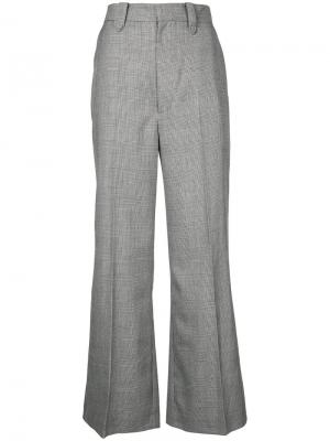 Wide leg tailored trousers G.V.G.V.. Цвет: чёрный