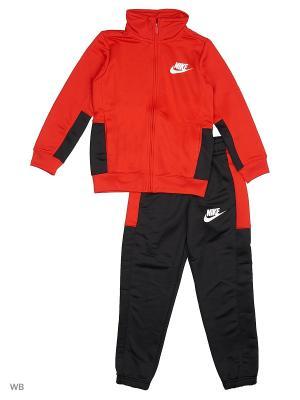 Костюм B NSW TRK SUIT PAC POLY Nike. Цвет: красный