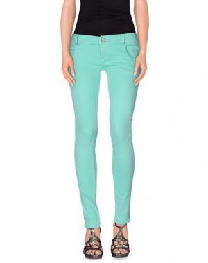 Джинсовые брюки JCOLOR. Цвет: бирюзовый
