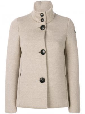 Куртка на пуговицах Rrd. Цвет: телесный