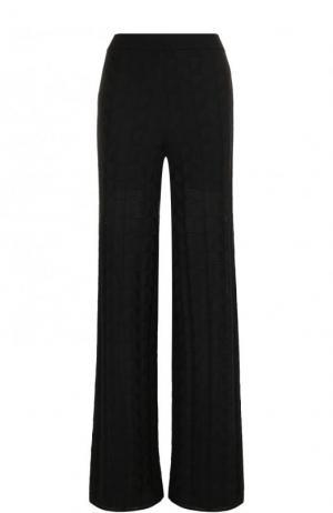 Однотонные расклешенные брюки M Missoni. Цвет: черный