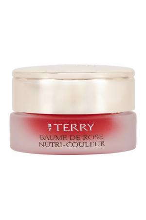 Питательный бальзам для губ Baume de Rose Nutri Couleur, 3 Cherry Bomb, 7gr By Terry. Цвет: красный