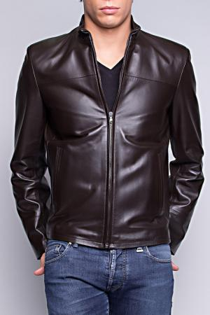 Куртка Giorgio. Цвет: коричневый