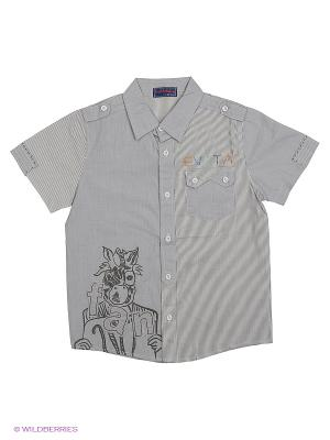 Рубашка Evita Baby. Цвет: серый