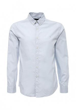 Рубашка Trussardi Jeans. Цвет: голубой