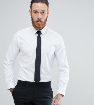 Heart & Dagger Рубашка зауженного кроя с галстуком. Цвет: белый