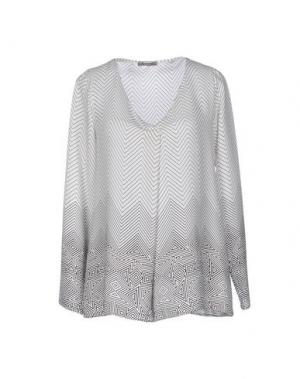 Блузка DIXIE. Цвет: белый