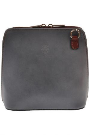 Сумка FLORENCE BAGS. Цвет: grey, brown