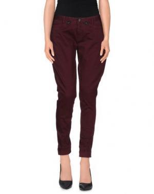 Повседневные брюки ROMANO RIDOLFI. Цвет: красно-коричневый