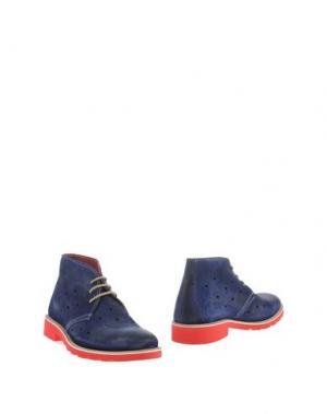 Полусапоги и высокие ботинки GABARDINE. Цвет: синий