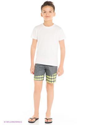 Бордшорты Menace Boys BILLABONG. Цвет: серый меланж